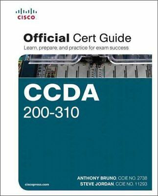 CCDA 200-310 Official Cert Guide by Anthony Bruno 9781587144547
