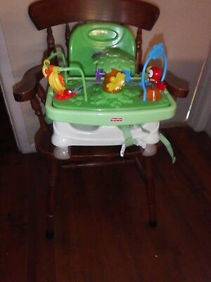 Fisher Price - Portable Highchair - Folding Booster Seat - Infant Toddler