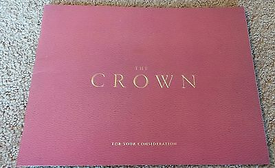The Crown Tv Show Book Press Kit Fyc For Your Consideration