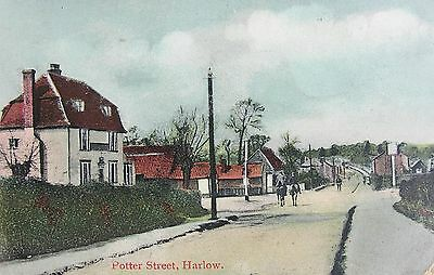 Potter Street Harlow Essex 1907 Pc