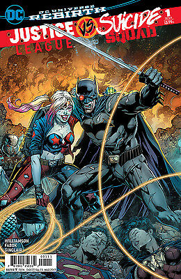 JUSTICE LEAGUE SUICIDE SQUAD #1, SECOND PRINTING VARIANT, New, DC (2017)