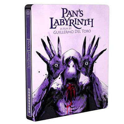 New Mondo Pan's Labyrinth Steelbook Blu-Ray DVD #004 Del Toro Canada Exclusive