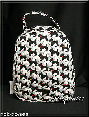 VERA BRADLEY Lunch Bunch - Scottie Dogs NWT
