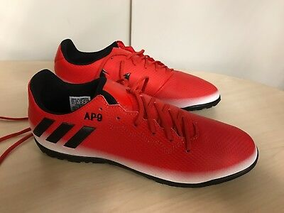 adidas Messi 16.3 Kids Tf Football Trainers Uk 5 rrp £45 Red/White/ Black