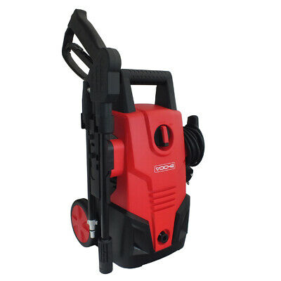 1400W 105Bar High Pressure Portable Jet Power Washer & Turbo Lance + Autostop