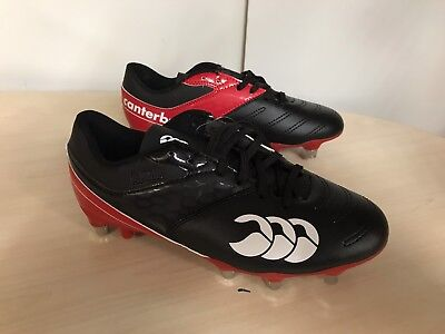 Canterbury Phoenix Raze SG Rugby Boots  UK6  Black/Red   rrp £60