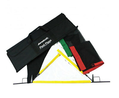 """Westcott Fast Flags Kit 24"""" X 36"""" Carbon Steel Frame New Product# 1957 Lighting"""