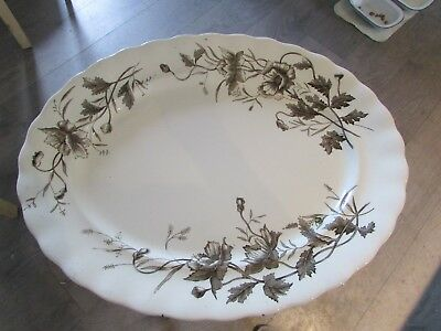 K&Co(Keeling)~Kent~HUGE 46.5cms Meat/Serving Platter. c1910's