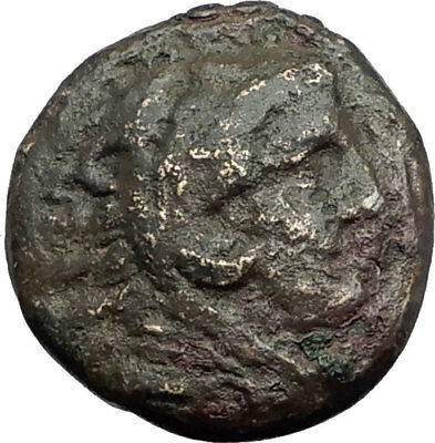 ALEXANDER III the Great 325BC Macedonia Ancient Greek Coin HERCULES CLUB i64579