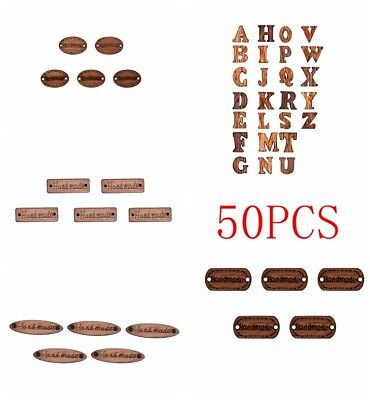 10/50Pcs New Christmas Wood Button Apparel Sewing Coat Craft DIY Antique Theme