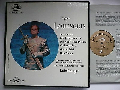 Kempe Conducts Wagner Lohengrin Vpo Emi Angel San 121-5