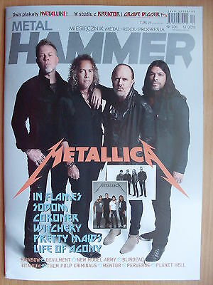 METAL HAMMER Poland 12/2016 METALLICA on cover /Hardwired... To Self Destruct/