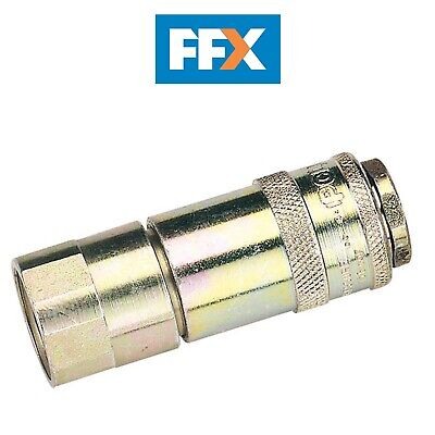 "DRAPER 37831 1/2"" Female Thread PCL Parallel Airflow Coupling (Sold Loose)"