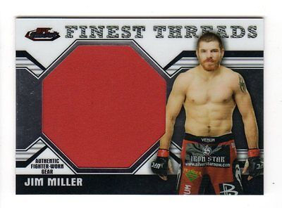 Jim Miller 2011 Finest Ufc Finest Threads Jumbo Fighter Relics