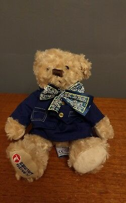 JOE & FRIENDS TEDDY BEAR TURKISH AIRLINES BY NOLIMITS PROMOTION Soft Plush Plane
