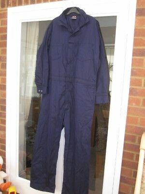 Westex Indura 2 Xl Saftech Overalls Boiler Suit 2 Extra Large Navy Flame Resist