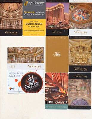 10-from--the VENETIAN // the PALAZZO---Las Vegas,NV------Room keys--K-71