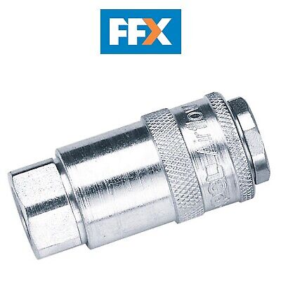 "DRAPER 37827 1/4"" Female Thread PCL Parallel Airflow Coupling (Sold Loose)"