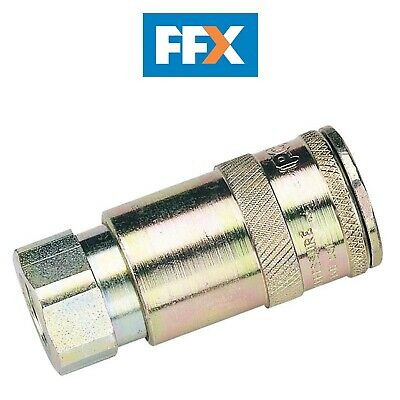 DRAPER 51384 1/4in BSP Taper Female Thread Vertex Air Coupling
