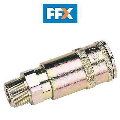 "DRAPER 51409 3/8"" BSP Taper Male Thread Vertex Air Coupling"