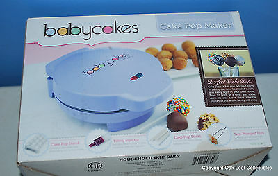 Original Babycakes Cake Pop Maker, Nonstick Coated, Model CP-94LV - Makes 12