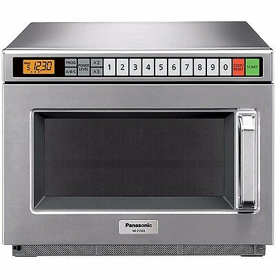Pro Commercial Microwave Oven, 2100 Watts, 15 power levels, Panasonic NE-21523