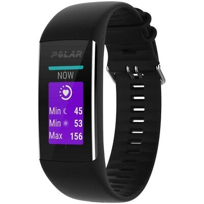 Polar A370 M-L Black Fitness - training