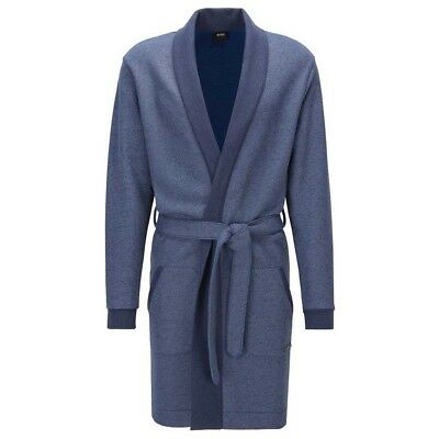 Hugo Boss Shawl Collar Gown Pijamas
