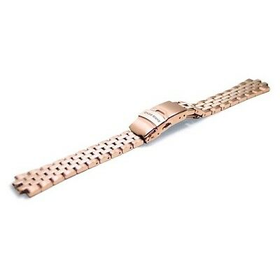 Chris Benz Metal Strap Jubilee For Diamond Diver One Size Rose