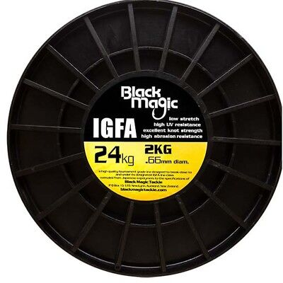 Black Magic Igfa Bulk Spool 5280 0.660 mm Hi Viz Yellow