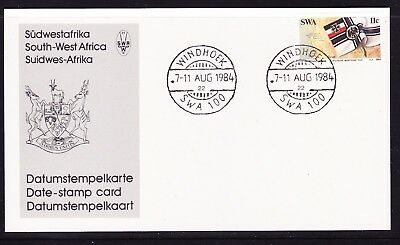 South West Africa  1984 German  Poccession Card