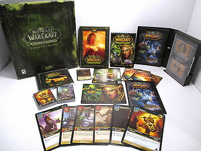 2006 World of Warcraft Burning Crusades CE/Heroes Azeroth Starter Card Deck Game