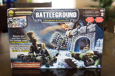 Battleground Crossbows & Catapults - Tower Attack Expansion - SEALED IN BOX!