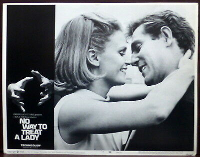 Lee Remick SET 8 ORIGINAL 1960s Lobby Cards No Way to Treat a Lady Rod Steiger