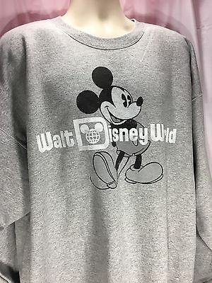 Disneyland Disney world Classic Mickey Mouse Sweatshirt Hanes 2XL