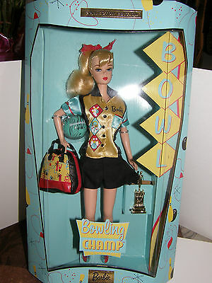 Barbie    Bowling Champ       1999 vintage 50's look collector edition