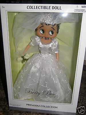 Betty Boop     Precious Kids Wedding premium collection    2006 collector doll