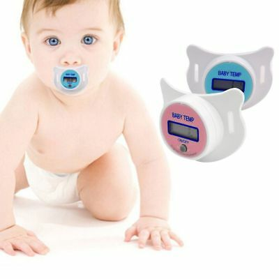 Infant Safety Baby Nipple Thermometer Pacifier Digital Temperature Sensor