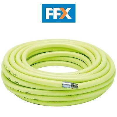 "DRAPER 23190 15.2M 1/4"" BSP 8mm Bore High-Vis Air Line Hose"