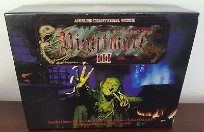 Nightmare III Anne De Chantraine Witch Video Board Game VHS 1992 COMPLETE