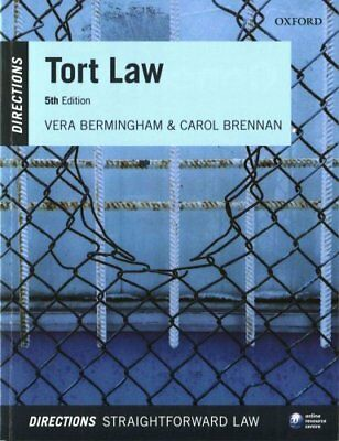 Tort Law Directions by Vera Bermingham 9780198753247 (Paperback, 2016)