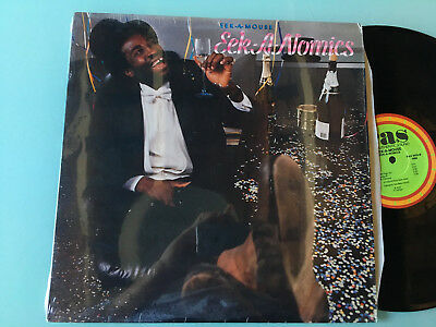 LP   USA MINT  Eek-A-Mouse ‎– Eek-A-Nomics Label: RAS Records ‎– RAS 3033 Format