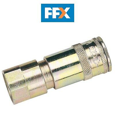 DRAPER 51406 1/2in BSP Taper Female Thread Vertex Air Coupling