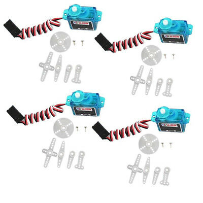 NEW 4pcs 5g rc Servo mini micro for Rc helicopter Airplane Foamy Plane F
