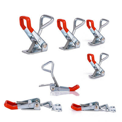 10Pcs Adjustable Toggle Clamp Pull Action Metal Latch Hand Tool 100KG/220LBS
