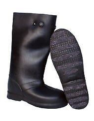 """TREDS 14855 Tough 12"""" Pull on Stretch Rubber Overboots Large/X-Large One Pair"""