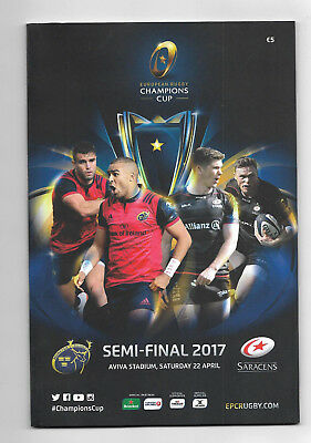 2017 European Rugby Champions Cup Semi Final - SARACENS v. MUNSTER