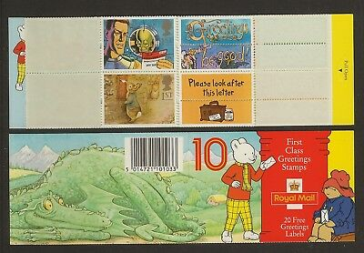 GB Stamps: 1994 Greetings Booklet KX6.