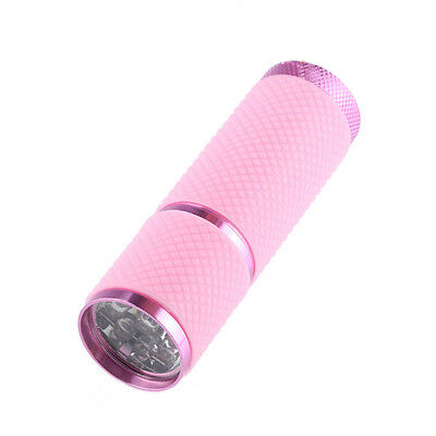 Super Bright Torch Water Resistant Rubber Coated Body 9 LED Flashlight AG67