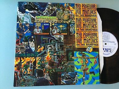LP   UK 1992 MINT  Mad Professor ‎– Dub Me Crazy 12: Dub Maniacs On The Rampage